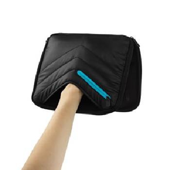 Чехол для iPad 2/3, DICOTA PadSkin Pro, черный, Нейлон/Неопрен размер (211x265x36mm)