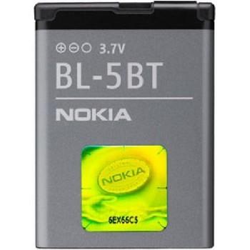 АКБ Nokia BL-5BT Li870 с голограммой EURO 2:2(2600C)