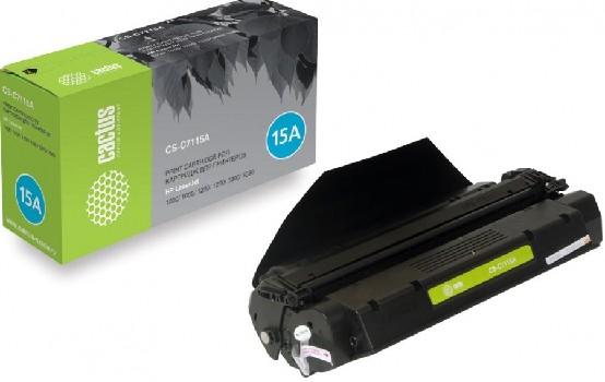 Картридж CACTUS CS-C7115A для принтеров HP LaserJet 1000/ 1005/ 1200/ 1220/ 3300/ 3380