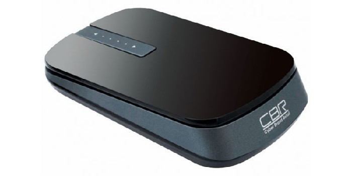 Мышь CBR CM-750, оптика, радио 2,4 Ггц 1000/1600dpi, глянец, touch scroll, мини, USB, CM 750