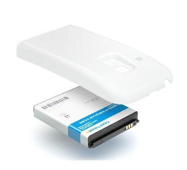 """Аккумулятор для Samsung S3 mini i8190 повышенной емкости """"LP"""" Li3000 mAh с задней крышкой (белый)"""