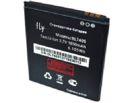 Аккумулятор (АКБ) для Fly BL7405, IQ449 Pronto/ Highscreen Zera F (rev.S) - 1350mAh, оригинал
