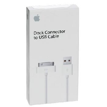 USB Дата-кабель для Apple 30 pin (MA591FE/B) (коробка)