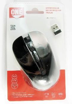 Мышь беспроводная (USB)  Smart Buy оптическая ONE 340AG 3кн. (универсальная) (чёрный)