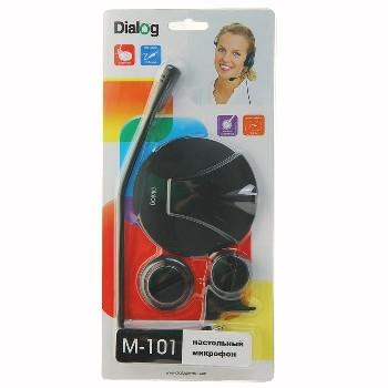 Микрофон настольный Dialog M-101B