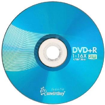 Диск DVD+R Smart Buy 1шт