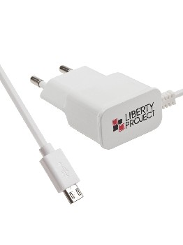 "СЗУ ""LP"" Micro USB 2,1A (коробка/белое)"