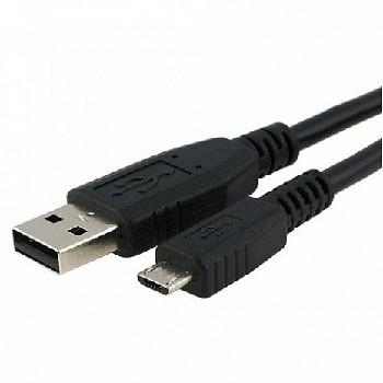 "USB кабель ""LP"" Micro USB (1 метр) (черный/европакет)"