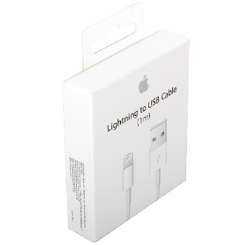 USB lightning Cable для Apple 8 pin iPhone/iPad Mini/iPad (коробка) MD818/819ZM/A
