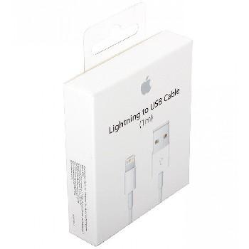 USB lightning Cable для Apple 8 pin iPhone/iPad Mini/iPad (коробка) MD818/819ZM/A