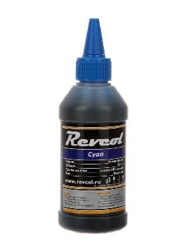 Чернила Revcol для hp, canon, Cyan, Dye, 100 мл.