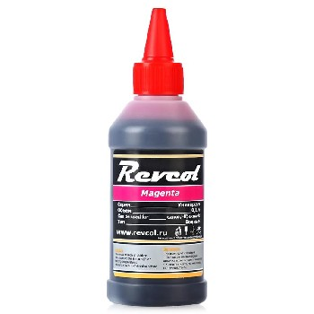 Чернила Revcol для hp, canon, Magenta, Dye, 100 мл.