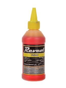 Чернила Revcol для hp, canon, Yellow, Dye, 100 мл.