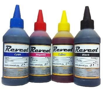 Набор чернил для заправки Epson (для 4-х цветных принтеров и МФУ)