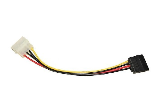 Переходник VCOM SATA питание один IDE 4pin -> SATA 20cm